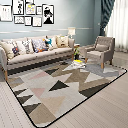 Amazon.com: Modern simple carpets Living room bedroom carpet ...
