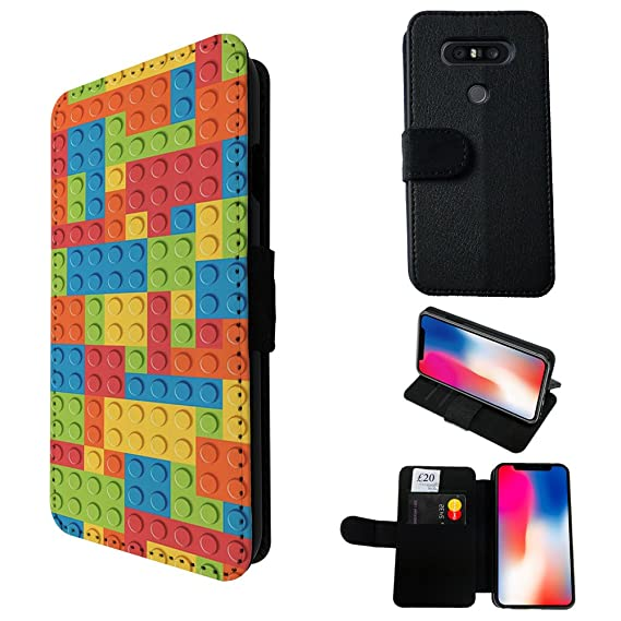 amazon com 003316 multi blocks logo fun print design lg q8 credit
