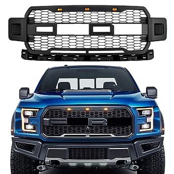Amazon.com: MotorFansClub - Parrilla delantera LED para Ford ...