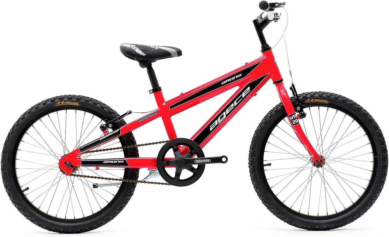 Agece Arons 20 Bicicleta, Niños, Rojo flúor, Talla Única: Amazon.es: Deportes y aire libre