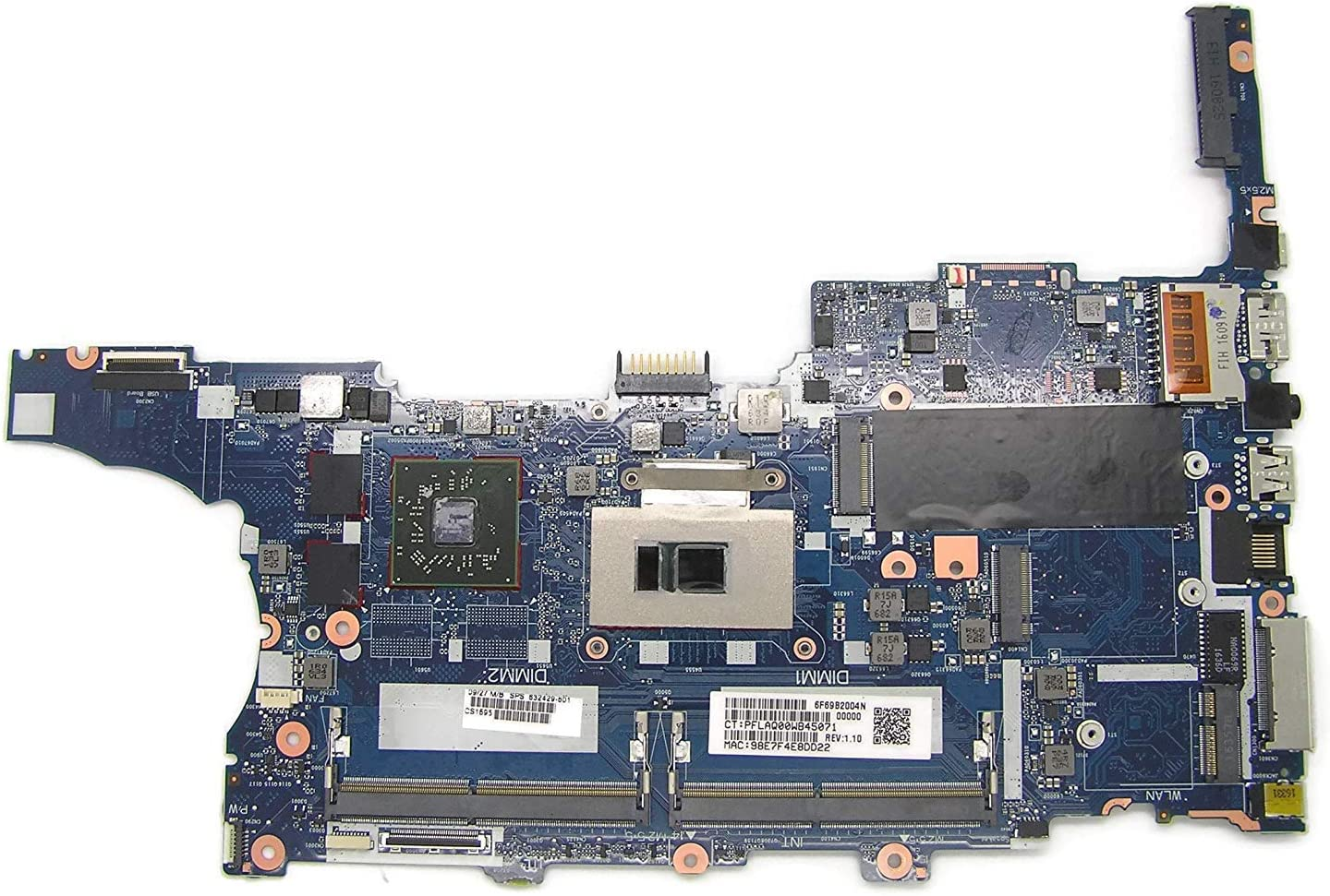 Comp XP MB for MB for HP EliteBook 840 G3 Motherboard with Intel Core i7-6600U 832429-001 832429-601