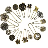 Assorted Contemporary Hijab Pins (Set of 5)