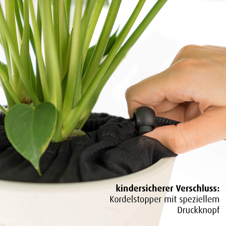 reer Pflanzenschutz-Netz f/ür Blument/öpfe bis 20 cm Durchmesser damit Dein Kind keine Blumenerde isst