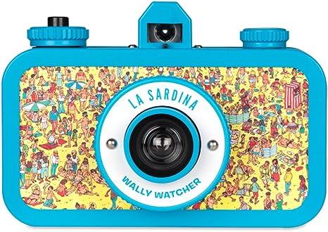 Lomography La Sardina Wally Watcher 35mm Camera: Amazon.es ...