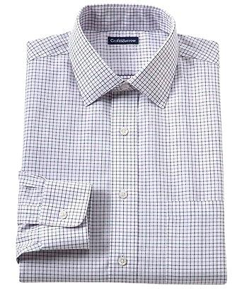 06c3374d3 Croft & Barrow Men's Classic Fit 100% Cotton No Iron Dress Shirt Check (15