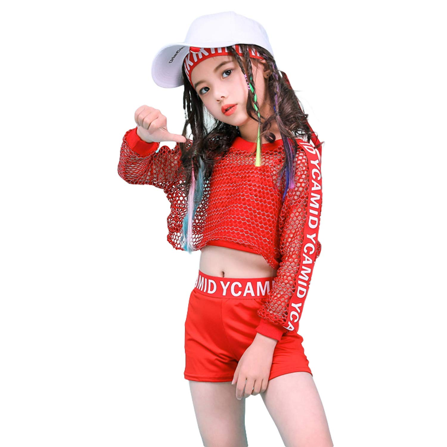 Amazon.com Girls Hip Hop Dance Clothes Jazz Modern Dance