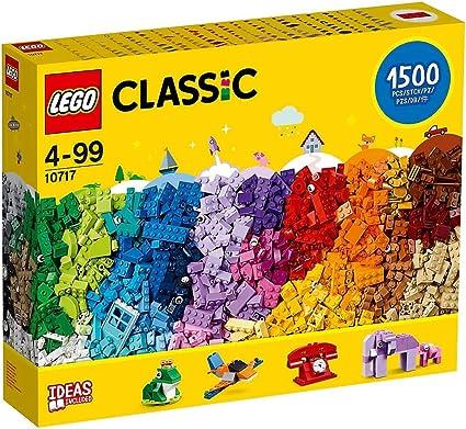 LEGO Classic Bricks 1,500 Pieces Value Starter Set