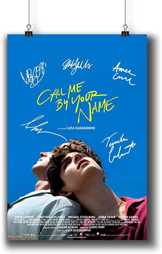 CALL ME BY YOUR NAME Movie PHOTO Print POSTER Armie Hammer Timothée Chalamet 001