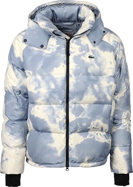 Lacoste Chaqueta L!VE Mens Jacket Hombre Azul Beige 48 ...