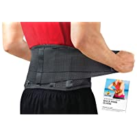 Back Brace by Sparthos - Immediate Relief for Back Pain, Herniated Disc, Sciatica...