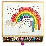 Galison Jonathan Adler Rainbow Hand 750 Piece Shaped Jigsaw Puzzle – Fun Indoor Activity, Multicolor