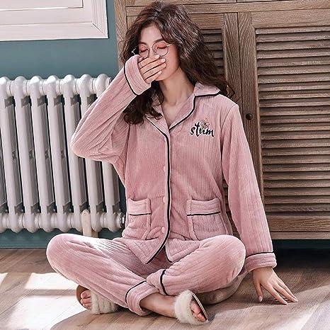 Bayrick Pijamas Mujer Invierno Enteros, Pijamas de Invierno ...