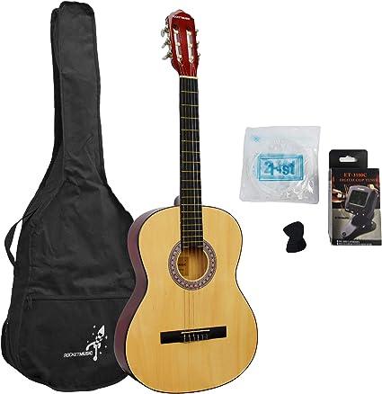 Rocket CG44PACK - Paquete de guitarra clásica: Amazon.es ...