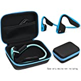 Bone Conduction Headphones Case for Aftershokz AS600 (SG/OB/IG/SG), Bluez 2, 2S AS500 (S/SM/SR/SN), AS451XB; KSCAT, Sades, DIGICare, allmity, Yaklee, Abco Tech, LQING, longee, HYON, 4inloveme, koar