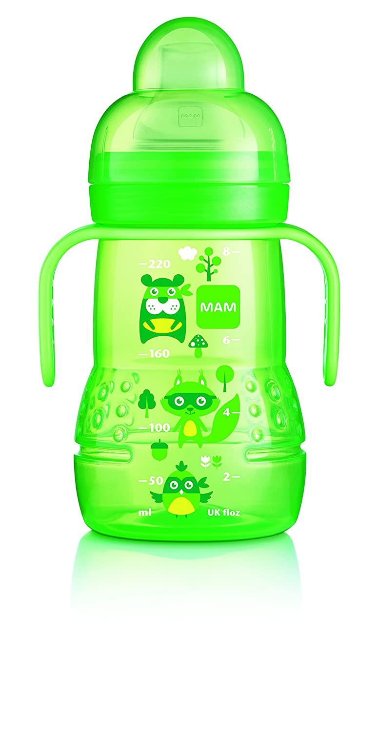 Mam Transició n Botella 220ml 4 Meses y - Color: Verde 8162713