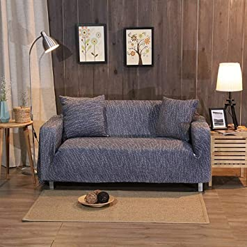 Lyikai Sofabezug Gewirke Ecksofa Abdeckung Universal Stretch Möbel