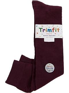 a87919e96 Amazon.com  trimfit Girls  Flat Knit Comfortoe Socks (Pack of 2 ...