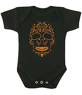 BabyPrem Baby Body Strampler Halloween Totenkopf Kleidung Schädel ...