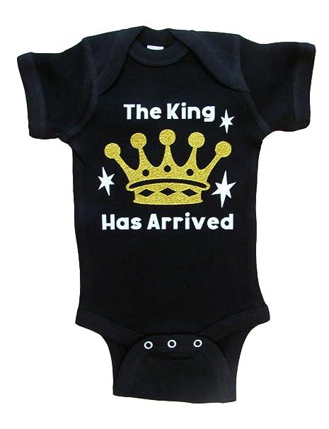 Amazon.com: El rey ha llegado, traje de bebé para niño ...