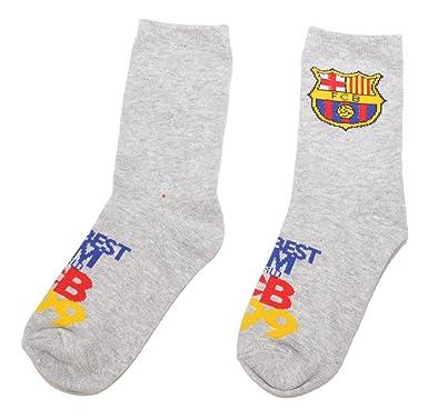 FCB Calcetines para niños con licencia oficial del FC ...