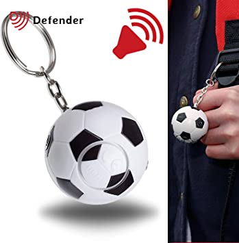 Defender diseño de balón de fútbol con seguridad personal alarma ...