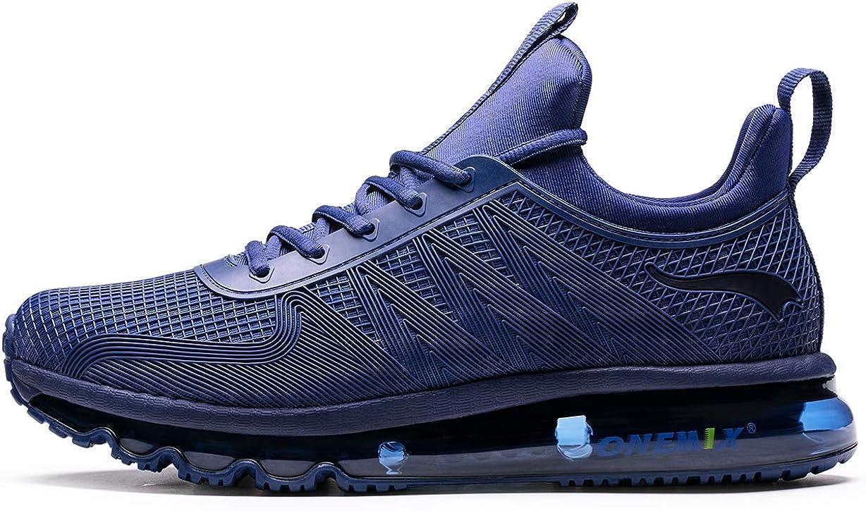 ONEMIX Hombre Air Running Zapatillas Outdoor Trail Trainers - Zapatillas de Deporte de Gimnasia con Diseño de Una Pieza: Amazon.es: Zapatos y complementos