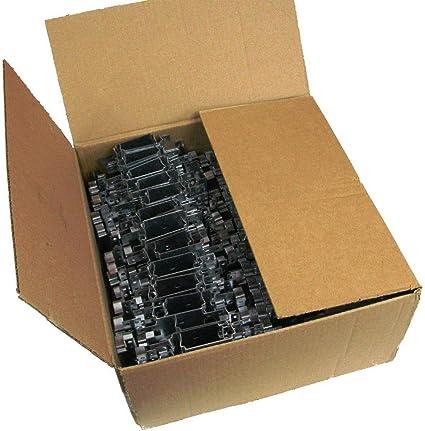100x Direktabh/änger entkoppelt 125mm f/ür CD Deckenprofil 12,5cm Deckenabh/änger