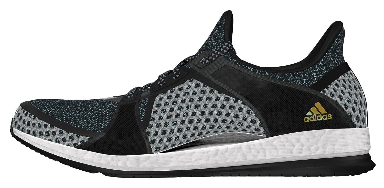 adidas Pure Boost X TR, Zapatillas de Deporte Para Mujer 40 EU|Negro (Negbas / Negbas / Azuvap)