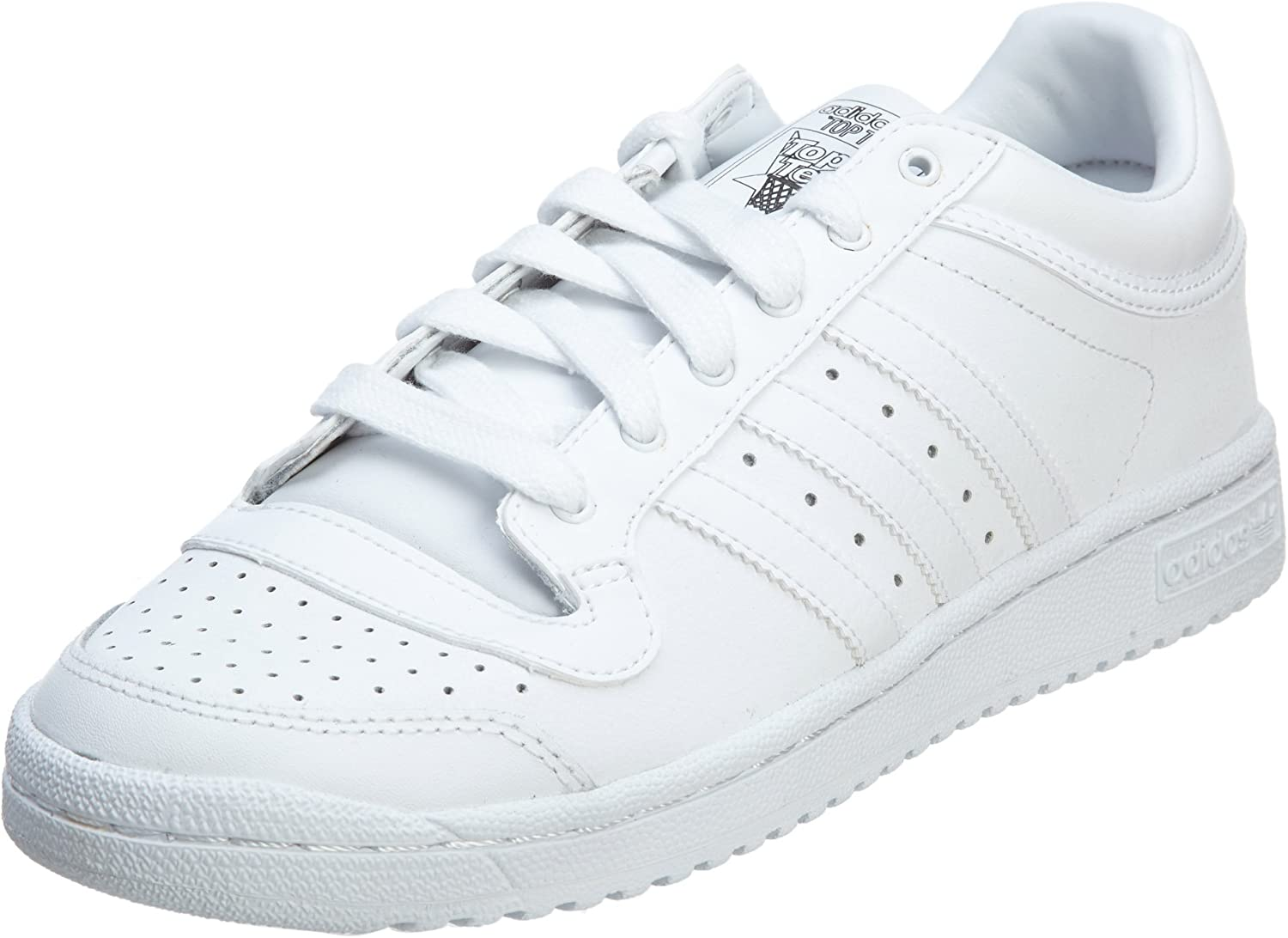 Verter Continuación Rebaño  adidas Originals mens TOP TEN LO-M Top Ten Lo White Size: 10.5:  Amazon.co.uk: Shoes & Bags