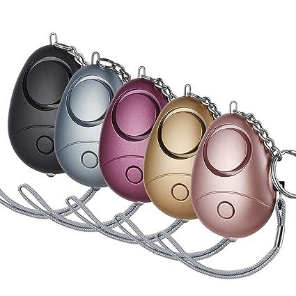 Amazon.com: Safesound Llavero de alarma personal, 5 unidades ...