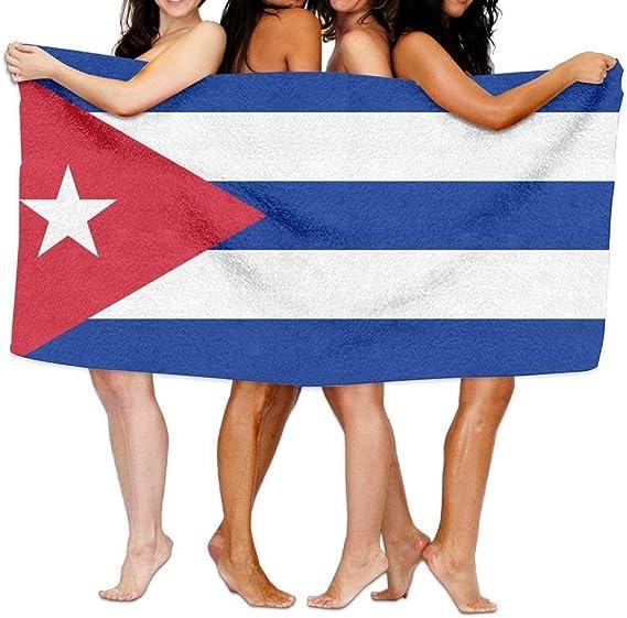 Bolsa de Almohadillas para Toalla de Playa Bandera de Cuba de 203 x 130 cm, Suave y Ligera, Absorbente para baño, Piscina, Yoga, Pilates, Picnic, Toallas: Amazon.es: Hogar