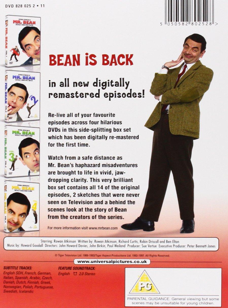 Mr bean series 1 volume 1 4 digitally remastered 20th anniversary mr bean series 1 volume 1 4 digitally remastered 20th anniversary edition dvd amazon rowan atkinson dvd blu ray solutioingenieria Gallery