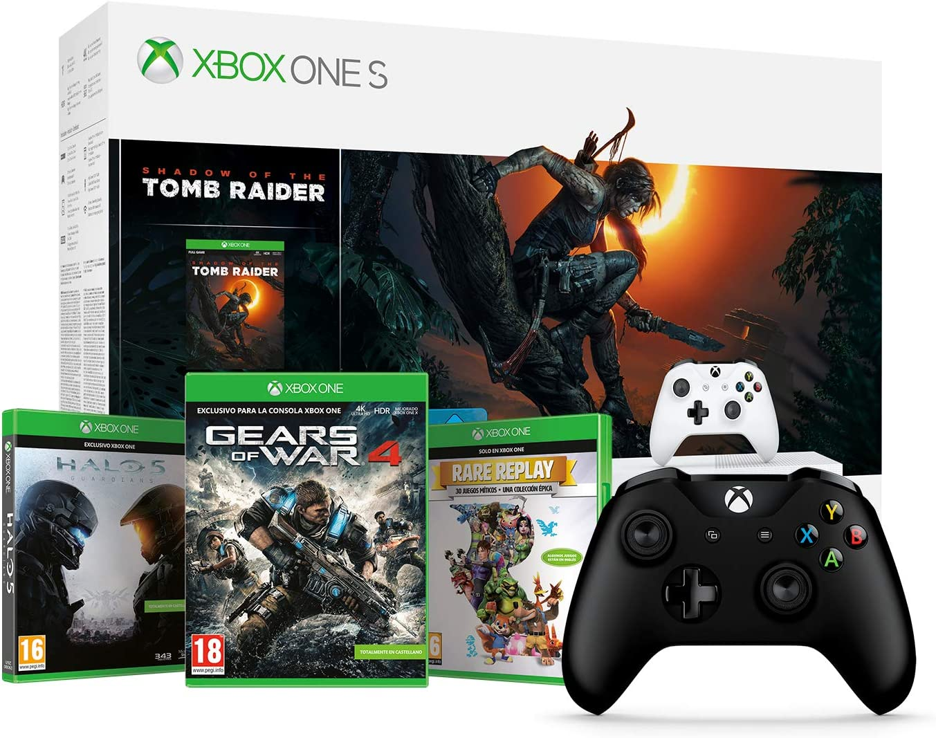 Xbox One S-Consola 1TB+Shadow Of The Tomb Raider + Microsoft ...