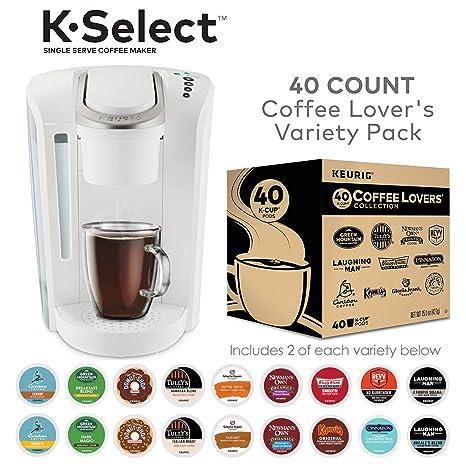 Amazon.com: Keurig K-Select K-Cup Pod - Cafetera para café ...