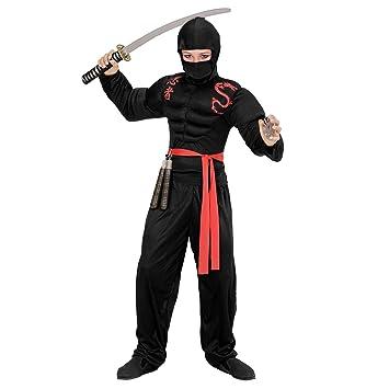 WIDMANN Disfraz de Ninja musculoso para niño - 5-7 años