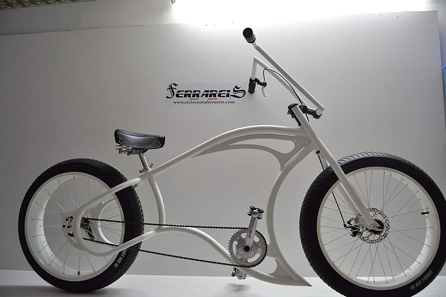 Cicli Ferrareis Cruiser Chopper Fat Bike 24 1V Custom Bike ...