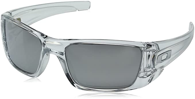 Oakley Men\'s Fuel Cell Square Sunglasses - Polished Clear Frame ...