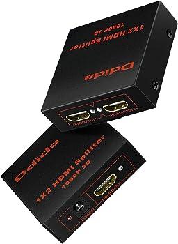 Ddida Powered Full Ultra HD 1080P Hdmi Splitter