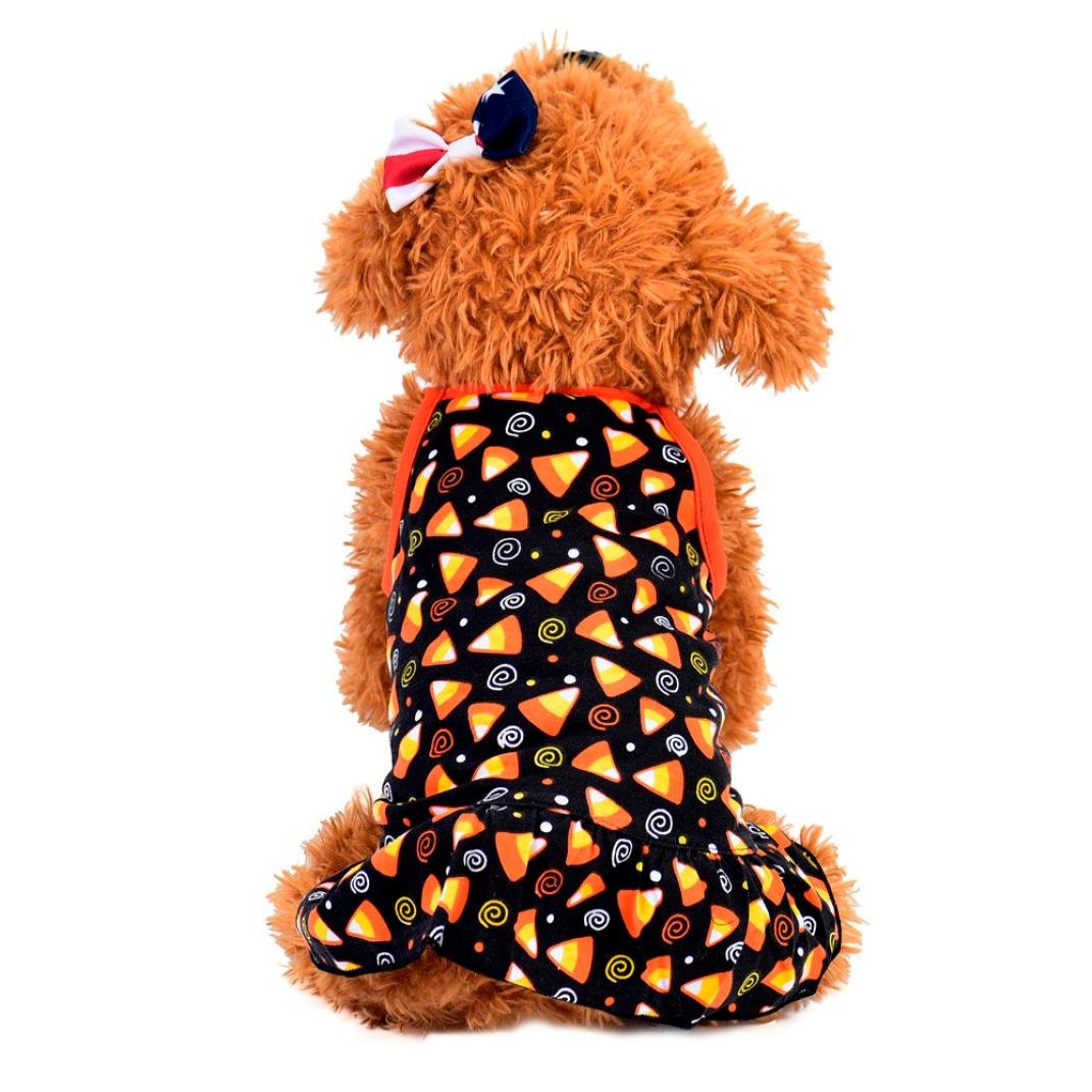 犬服、夏かわいいペット子犬小型犬猫ペットカラフルドレスアパレル服 S ブラック THNB-38 ブラック Small ブラック Small ブラック B07C5519WM, 320モータリング:1a01e4f9 --- alumnibooster.club
