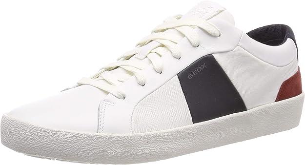 Geox U Warley B Sneakers Herren Weiß/Navy