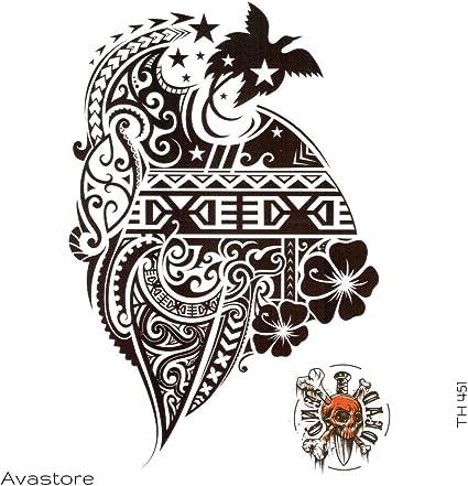 Tatuaje temporario Maori Maya tatuaje efímero Maya – Avastore ...