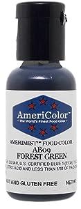 AmeriColor AmeriMist Forest Green Airbrush Food Color, .65 oz.