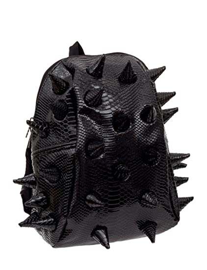 900caf1f76 Madpax 3D Spikes Back Pack Gator Luxe Fade To Black Design Half Pack Black   Amazon.co.uk  Clothing