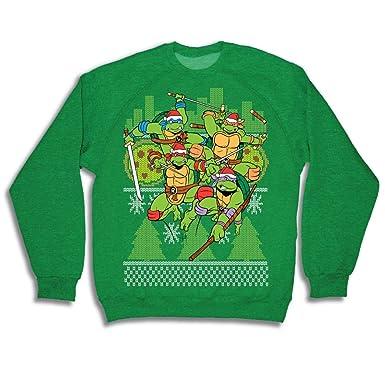 Teenage Mutant Ninja Turtles - Sudadera de Navidad para ...