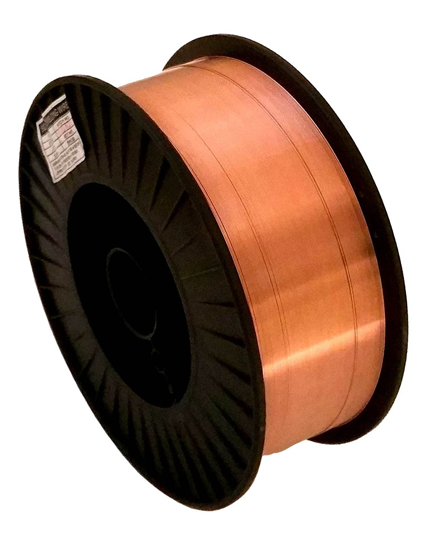 Welding Wire 33 lb .035' ER70S-6 Spool (33 lb spool, .035' Wire) .035 Wire) Jinxu Welding ER70S-6 0.035 33-Lb