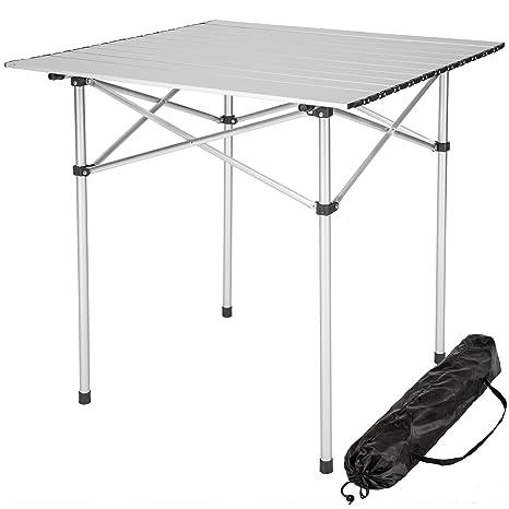 Campingtisch Gartentisch.Tectake Klapptisch Campingtisch Gartentisch Campingmöbel Diverse Modelle 70x70x70cm Model 401169