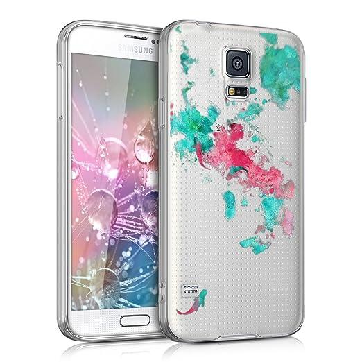 114 opinioni per kwmobile Cover per Samsung Galaxy S5 / S5 Neo / S5 LTE+ / S5 Duos- Custodia in