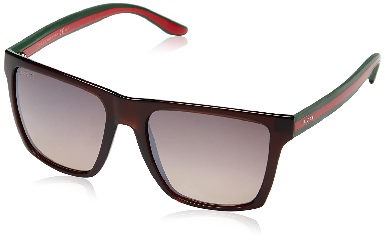 f78c3f271ae Gucci Women s GG 3535 S Rectangular Sunglasses  Amazon.co.uk  Clothing