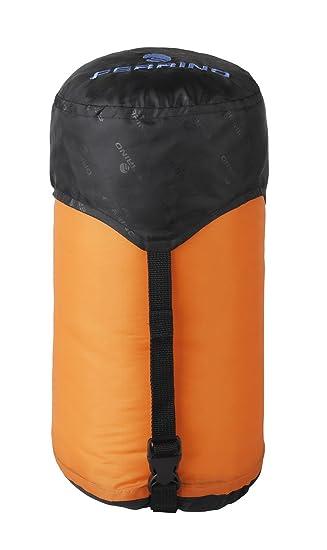 Ferrino 86049W - Bolsa de compresión para Saco de Dormir, Color Naranja, 60 x 25 cm: Amazon.es: Deportes y aire libre