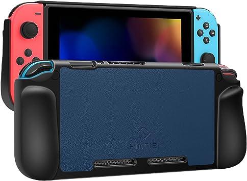Fintie - Carcasa para Nintendo Switch, Color Negro: Amazon.es: Electrónica